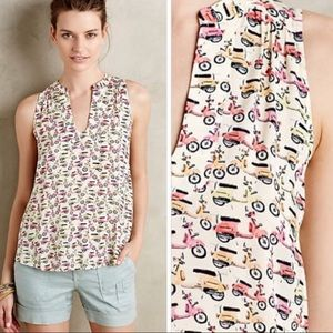 Anthropologie MAEVE tank top- size 10